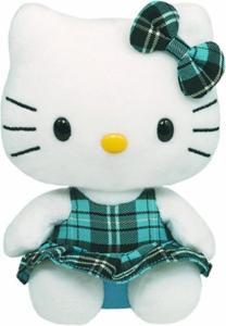 Hello Kitty Blu Peluche 14Cm