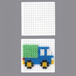 Creativ Hama 220 TR - Ironing Beads Size P. 4 Corner, White Small