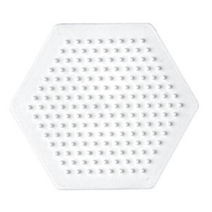Creativ Hama 223 TR Ironing Beads Size P. Hexagon Transparant