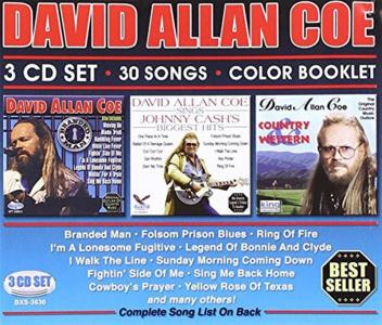 David Allan Coe - 30 Songs (3 Cd)