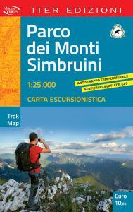 Parco dei Monti Simbruini. Carta escursionistica 1:25.000