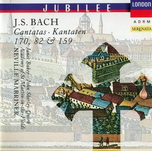 Johann Sebastian Bach - Cantatas 82,159,170