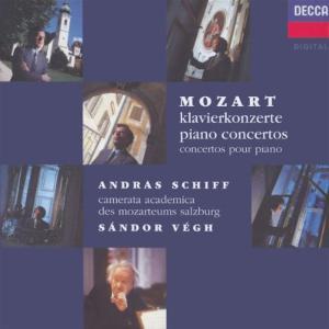Wolfgang Amadeus Mozart - The Piano Concertos - Andras Schiff (9 Cd)