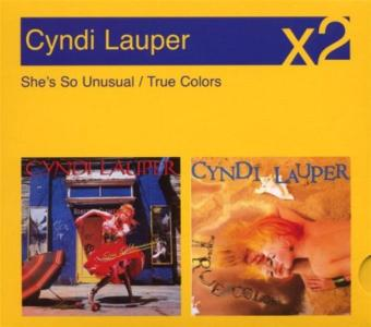 Cyndi Lauper - She's So Unusual / True Colors (2 Cd)