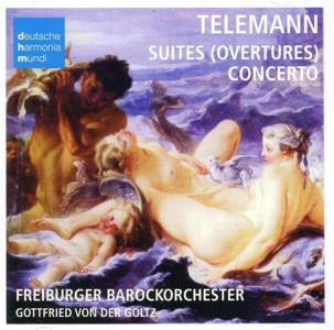 Georg Philipp Telemann - Concertos & Ouvertures