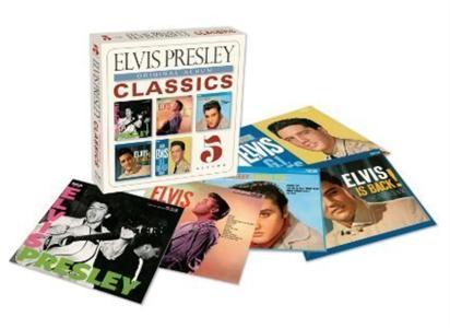 Elvis Presley - Original Album Classics (5 Cd)