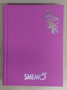 Diario Smemoranda 2021/2022 ( formato 16 x 11 fucsia )