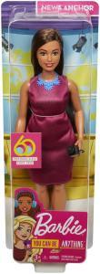 Mattel GFX27 - Barbie - Carriere 60° Anniversario - Giornalista