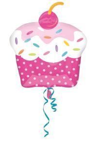 Palloncino Mylar Cupcake Party