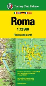 Roma 1:12.500. Ediz. multilingue