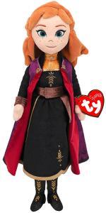 Ty: Principesse Disney - Anna (Peluche 33 Cm Con Suono)