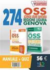 Kit Concorso 274 Oss Azienda Ligure Sanitaria Regione Liguria Genova. Manuale + Quiz