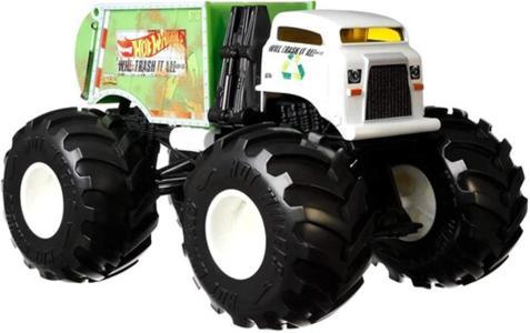 Hot Wheels Monster Trucks - Hw Monster Trucks 124 Will Trash It All