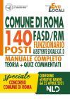 Concorso 1512. Comune Di Roma: 140 Posti Funzionario Assistente Sociale Cat. D. Nuova Ediz.