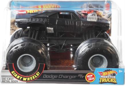 Hot Wheels Monster Trucks - Hw Monster Trucks 124 1970 Dodge Charger R/T