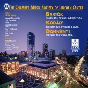 Chamber Music Society Of Lincoln Center - Bartok, Kodaly, Dohnany
