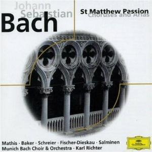 Johann Sebastian Bach - Passione S. Matteo (sel.)