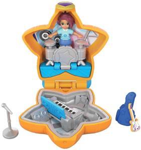 Mattel FRY32 - Polly Pocket - Tascabile Sempre Con Te - Il Concerto Di Shani