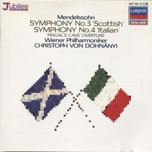 Felix Mendelssohn - Symphony No.3 Scottish & 4 Italian