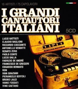 Grandi Cantautori Italiani (I) / Various (5 Cd)
