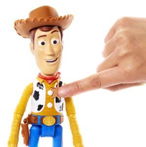Mattel GFR22 - Toy Story 4 - Woody Parlante 18 Cm