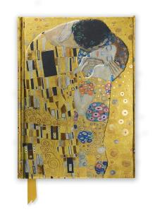 Gustav Klimt The Kiss - Foiled Journal