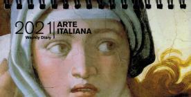 Agenda Giornaliera 2021 - Arte Italiana ( Formato 8 X 14 )