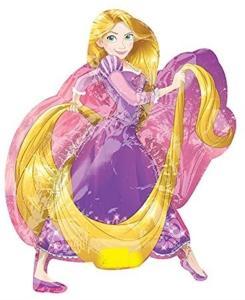 Amscan: Mini Shape Rapunzel Foil Balloon A30 Airfilled 22X27Cm