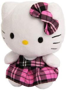 Hello Kitty Rosa Peluche 14Cm