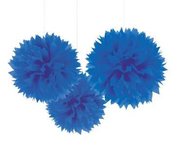 Decoro Batuffolo Blu 40,6 Cm