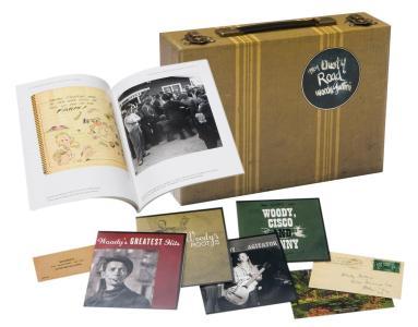 Woody Guthrie - My Dusty Road (4 Cd)