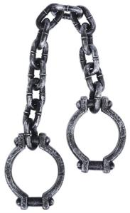 Shackles On Chain 87.6 Cm                       H