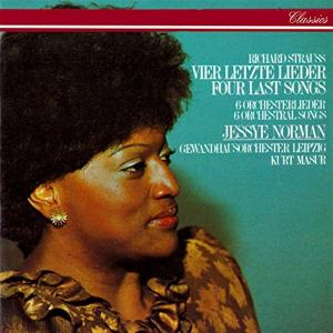 Classical - R Strauss: Four Last Songs - Jessye Norman