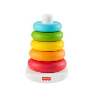 Mattel: Fisher Price - Piramide 5 Anelli Eco