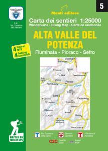 Alta Valle del Potenza. Fiuminata, Pioraco, Sefro