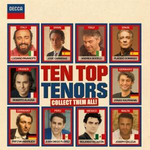 Ten Top Tenors (2 Cd)