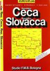 Repubblica Ceca. Repubblica Slovacca. Euro Atlante 1:300.000