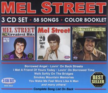 Mel Street - 58 Songs (3 Cd+Booklet)