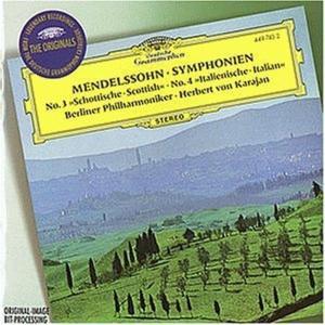 Mendelssohn - Sinf. N. 3 & 4 - Karajan