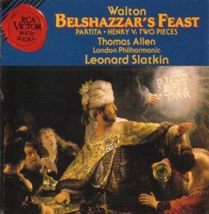 William Walton - Belshazzar'S Feast (1930 Rev 1948) (Sel)