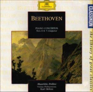 Ludwig Van Beethoven - Piano Concertos Nos.4 & 5 Emperor - Maurizio Pollini And Wiener Philharmoniker