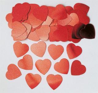 Confetti Jmb. Hearts Red 14G