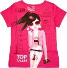 T-shirt Fucsia Top Model 8 Anni