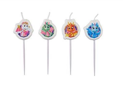 4 Mini Figure Candles