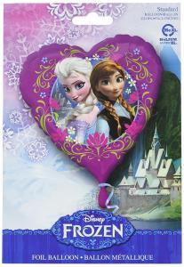 Disney: Frozen - Palloncino Mylar Cuore 45 Cm