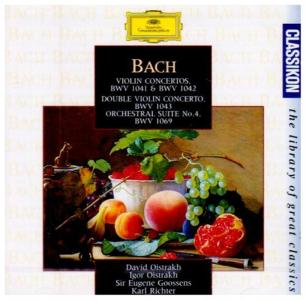 Johann Sebastian Bach - Violin Concertos