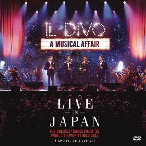 Il Divo - A Musical Affair Live In Japan (Cd+Dvd)