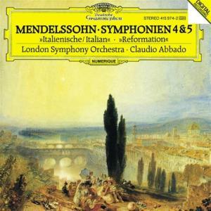 Felix Mendelssohn - Symphonien Nr 4 & 5