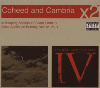 Coheed & Cambria - In Keeping Secrets Of Silent Earth / Good Apollo I'm Burning Star (2 Cd)