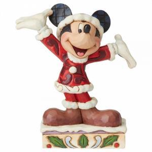 Statuetta Disney Mickey Christmas